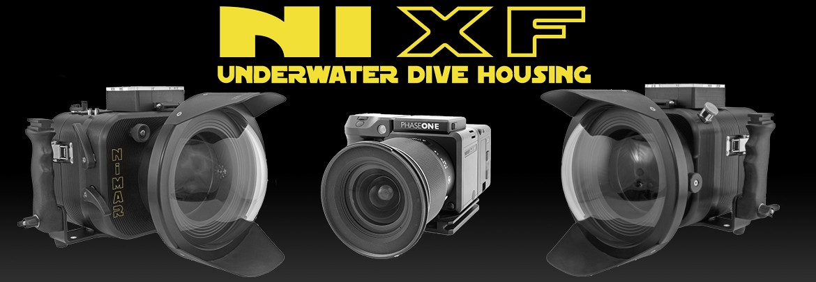 Underwater housing for Phase One XF 100mpx