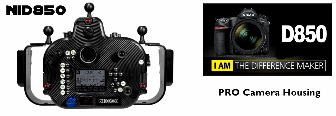 New PRO Camera Housing for Nikon D850