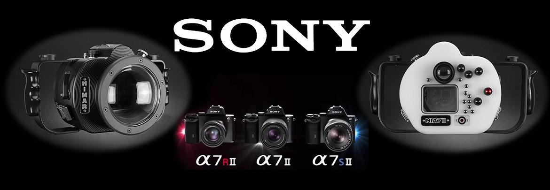 Custodia sub. per Sony Alpha a7II - a7RII - a7SII