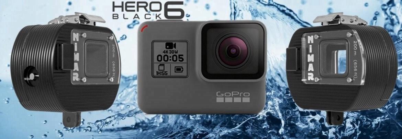 Custodia Deep per GoPro HERO5Black - HERO6 Black