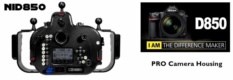 New PRO Camera Housing for Nikon D850
