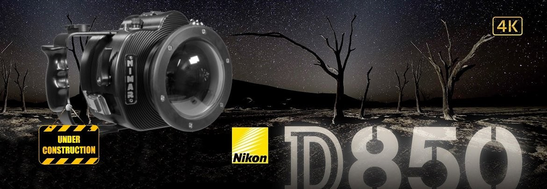 NID850 Underwater Camera Housing for NIKON D850 under construction